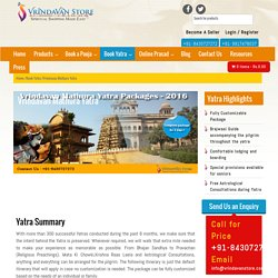 Mathura Vrindavan Yatra Darshan & Temples in Vrindavan
