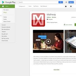 Mathway - Aplicaciones en Google Play