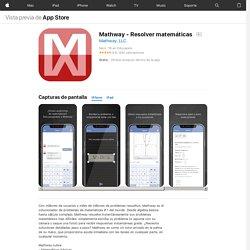 Mathway - Resolver matemáticas en AppStore