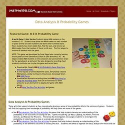 Data Analysis & Probability Games