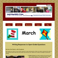 Mathwire.com | March 2012
