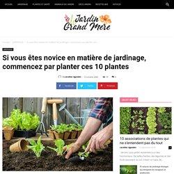 Si vous êtes novice en matière de jardinage, commencez par planter ces 10 plantes - Jardin de Grand Meres