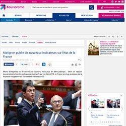 Matignon publie dix nouveaux indicateurs sur l'état de la France