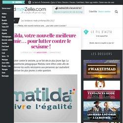 Matilda, plateforme contre le sexisme — madmoiZelle.com