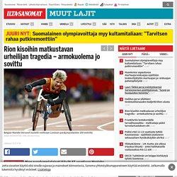 Rion kisoihin matkustavan urheilijan tragedia – armokuolema jo sovittu - Muut...