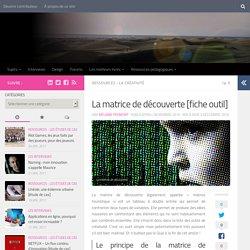 La matrice de découverte [fiche outil] - Les cahiers de l'innovation