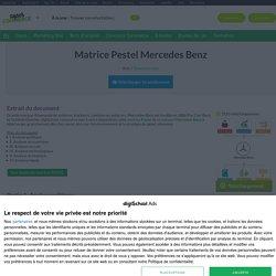 Matrice PESTEL Mercedes-Benz: Exemple et analyse marketing