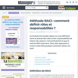 Matrice RACI : comment définir rôles et responsabilités ?