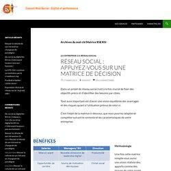 Matrice RSE RSI