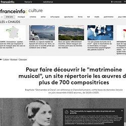 """Pour faire découvrir le """"matrimoine musical"""", un site répertorie les œuvres de plus de 700 compositrices"""