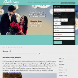 Best Karachi Matrimony