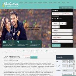 USA Singles Matrimony & matchmaking