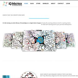 IQ Matrix | 100+ Self-Growth Mind Maps