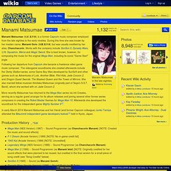 Manami Matsumae - Capcom Database - Capcom Wiki, Marvel vs Capcom, Street Fighter, Darkstalkers and more