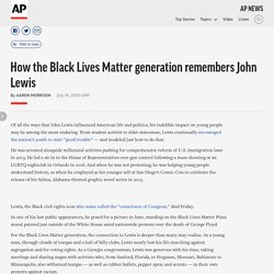7/19/20: How the Black Lives Matter generation remembers John Lewis