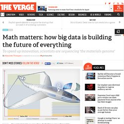 Math matters: how big data is building the future of everything