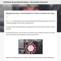 Matthew Brannelly - Fresh Perspectives to Help You Achieve Your Goals