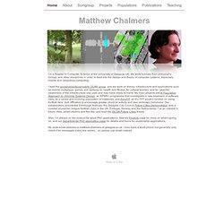 Matthew Chalmers
