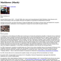 Matthews (Mark) — ZetaWiki