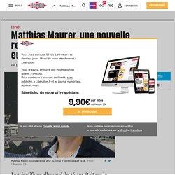 Matthias Maurer, une nouvelle recrue chez les astronautes européens