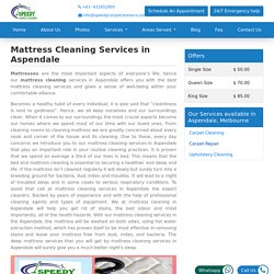 Mattress Cleaning Services in Aspendale