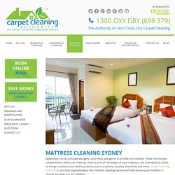 Local Mattress Cleaners Sydney