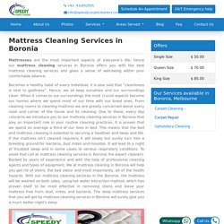 Mattress Cleaning Services in Boronia