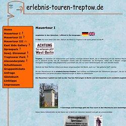 Mauertouren bei Erlebnis-Touren-Treptow