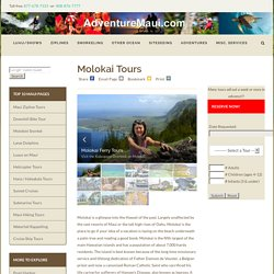 Maui Molokai Day Tours