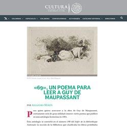 «69», un poema para leer a Guy de Maupassant