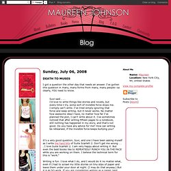 Maureen Johnson Books