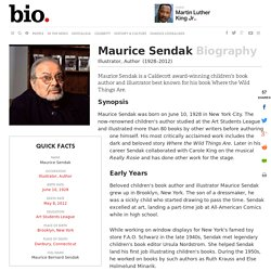 Maurice Sendak - Biography - Illustrator, Author
