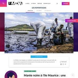 18 août 2020 - 20H30 Marée noire à l'île Maurice : une catastrophe qui ne fait que commencer