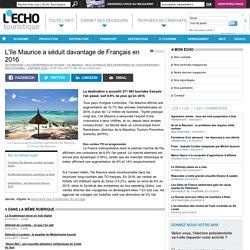 L'île Maurice a séduit davantage de Français en 2016
