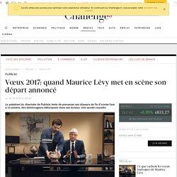 Vœux 2017: quand Maurice Lévy met en scène son départ annoncé du directoire de Publicis