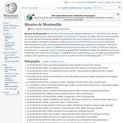 Maurice de Montmollin