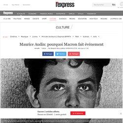 Maurice Audin: pourquoi Macron fait événement