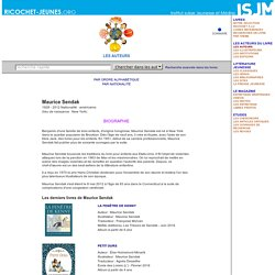 Biographie Maurice Sendak / Ricochet