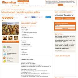 Mauricettes ou petits pains salés : Recette de Mauricettes ou petits pains salés