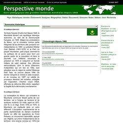 Mauritanie histoire