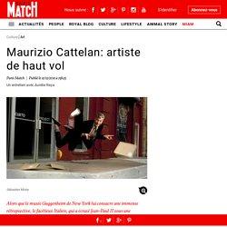 Maurizio Cattelan: artiste de haut vol