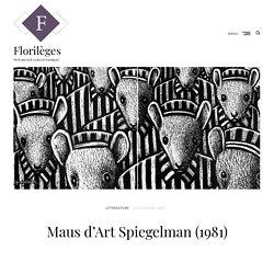 Maus d'Art Spiegelman (1981)