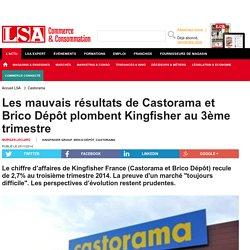 Les mauvais résultats de Castorama et Brico...