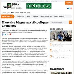 Metro – Mauvaise blague aux Alcooliques anonymes