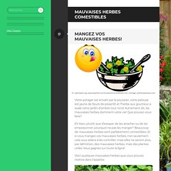 Mauvaises herbes comestibles
