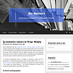 Les mauvaises rumeurs de Drago Malefoy – Doc Martine's