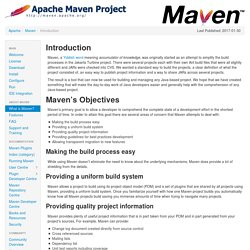 Maven – Introduction