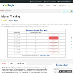 Live Maven Training Classes by Experts