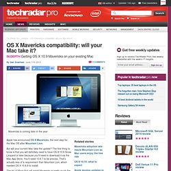 OS X Mountain Lion compatibility: will your Mac take it?