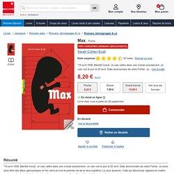 Max. Sarah Cohen-Scali - Decitre - 9782070665952